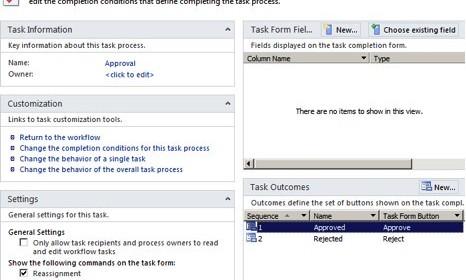 the sharepoint 2010 task process designer