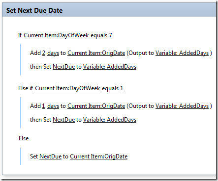 Workflow Due Date as Next Business Day   @WonderLaura