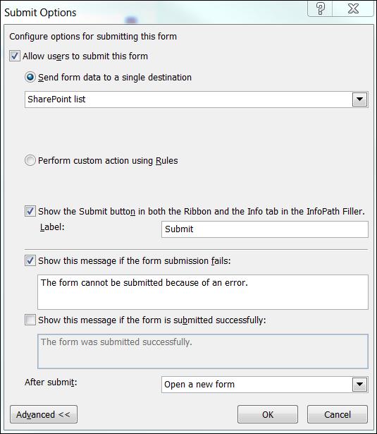 "InfoPath–""Save and New"" button | @WonderLaura"