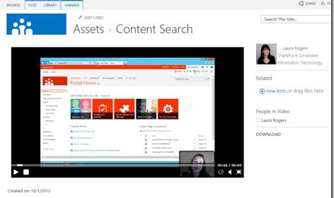 Working with Video Content in SharePoint 2013 | @WonderLaura