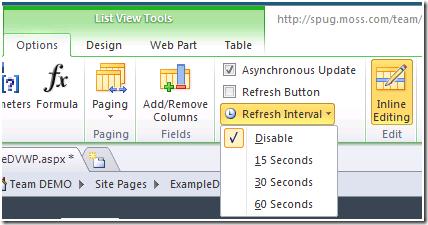 Asynchronous Update – Web Part Setting | @WonderLaura