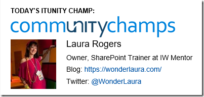 IT Community Champ