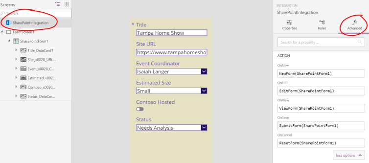 Customize List Forms – PowerApps Easy Button | @WonderLaura