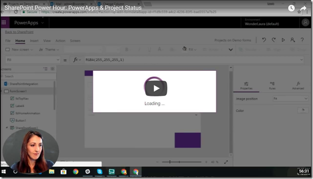 powerapps-youtube-project-status