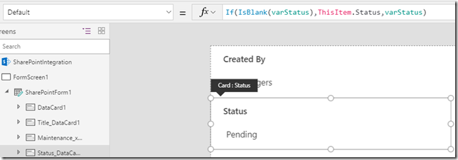 powerapps-sharepoint-status-card-submitted