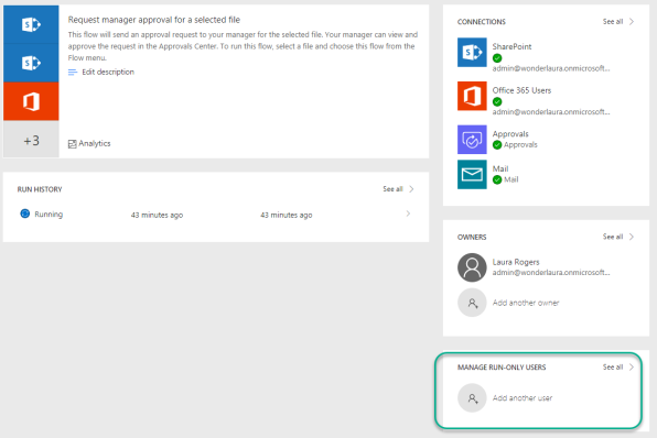 Button in SharePoint List to Trigger Microsoft Flow