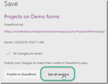 PowerApps Standalone App versus Customized List Form | @WonderLaura