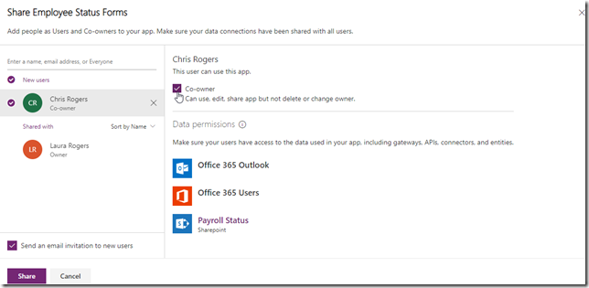 powerapps-share-app