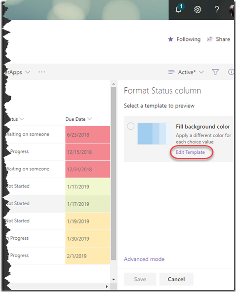 format-status-column