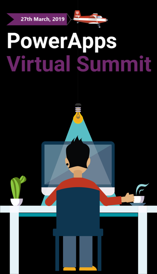 2019 PowerApps Virtual Summit vert