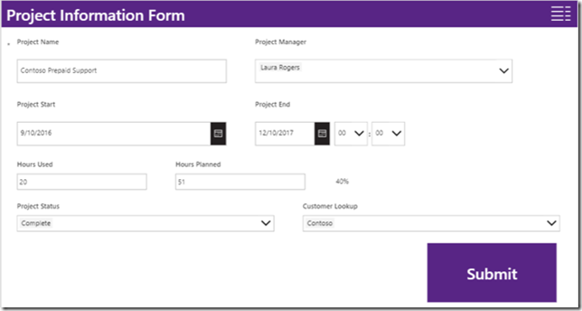 powerapps-form-control-project