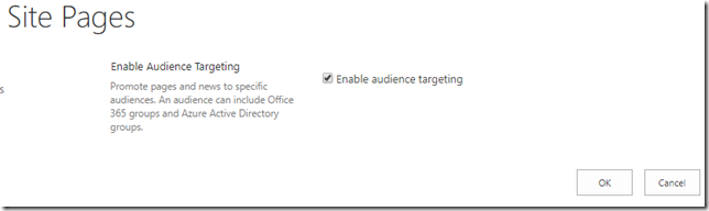enable-sharepoint-audience-targeting
