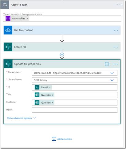 loop-array-flow-sharepoint-create-update-properties