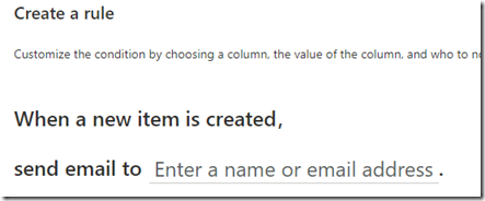 sharepoint-rule-list-new-item