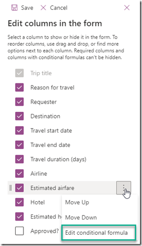 sharepoint-columns-edit-conditional-formula