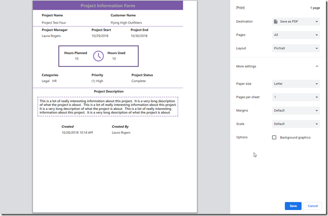 powerapps-print-labels-only-screen