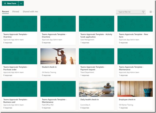 microsoft-forms-teams-approval-templates