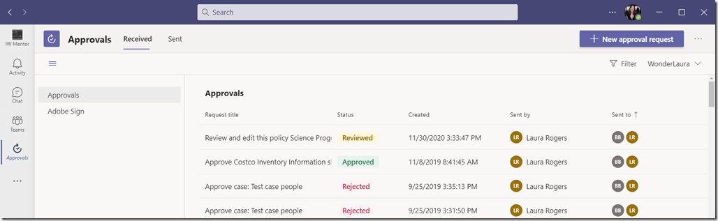 microsoft-teams-approvals-interface