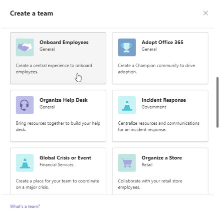 microsoft-teams-create-from-template-employee-onboarding